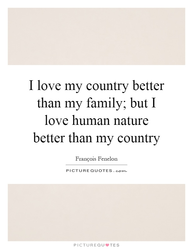 I Love My Country Quotes