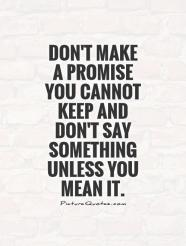 Image result for promise quotes