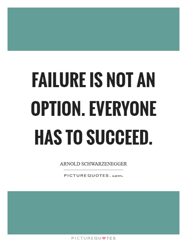 Failure Not Option Quote