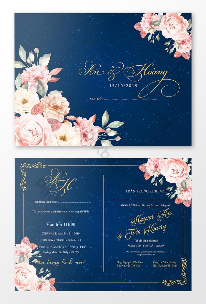 cartes d invitation de luxe happy day