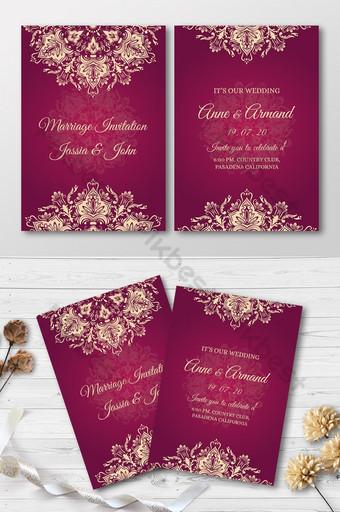royal invitation templates free psd