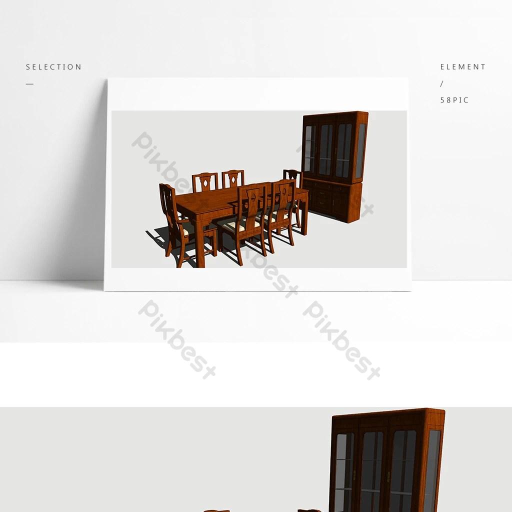 table de cuisine de style chinois et