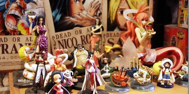 彰化。主題餐廳|【清閒焙可饗食堂】回味抓娃娃的樂趣 海賊王公仔/娃娃機玩具的饗食天堂