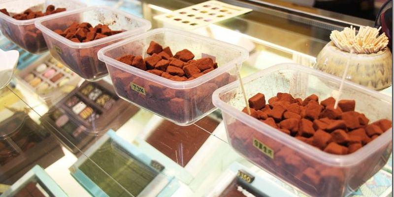 南投。美食|【Munich 慕尼黑巧克力工坊】與18度C巧克力工坊不相上下的美味生巧克力及義式冰淇淋