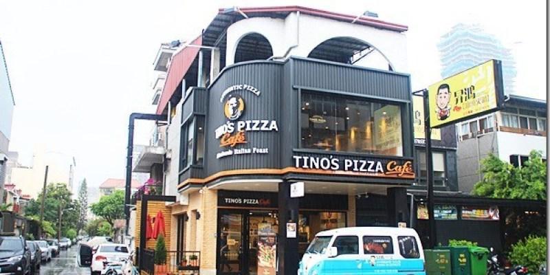 台中。美食 【TINO'S PIZZA Cafe】國美館附近的美食 討喜的星形披薩是吸睛的焦點