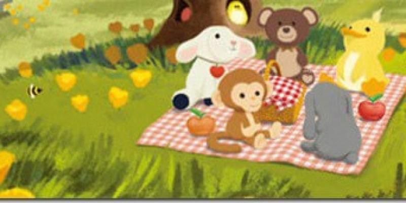 【體驗文】有機棉安撫巾-廚師小牛《Apple Park農場好朋友》