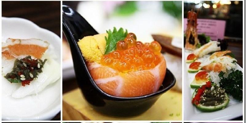 台中。美食 【丸億生魚片握壽司】隱身於台中北屯新一點利黃昏市場的日本料理