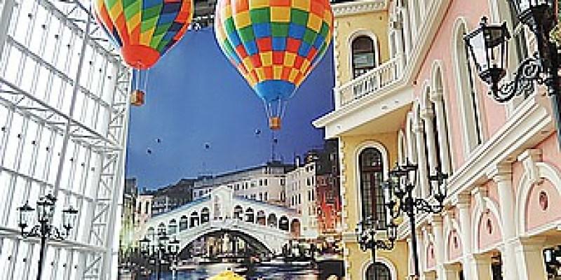 景點‧板橋|走威尼斯風又有許多美食餐廳的《板橋大遠百9F》