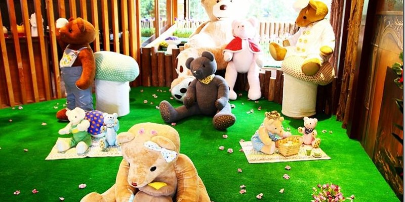 宜蘭。主題餐廳|【熊飽鍋物】親子友善泰迪熊主題火鍋 被泰迪熊歡樂氣氛圍繞的好滋味