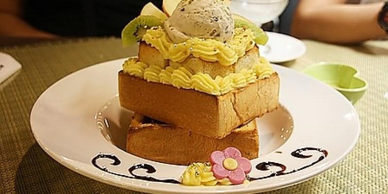 親子餐廳‧台中|能放著讓小朋友玩樂又能享受貴婦下午茶的《蜜糖公主 蜜糖吐司 咖啡館》