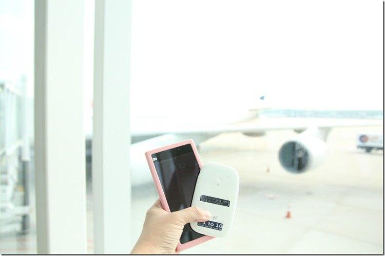 出國必備3C商品|【1to10 WIFI 4G分享器】(內有讀者優惠)同時四人無線上網吃到飽 方便又省錢
