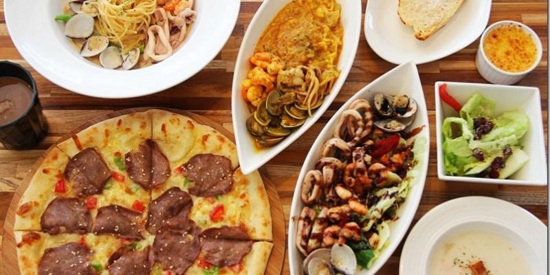 台中‧霧峰。親子餐廳 【Bravo's Pasta】(文內贈獎)全台首創頂級牛舌披薩 溫馨的環境頂級的美味