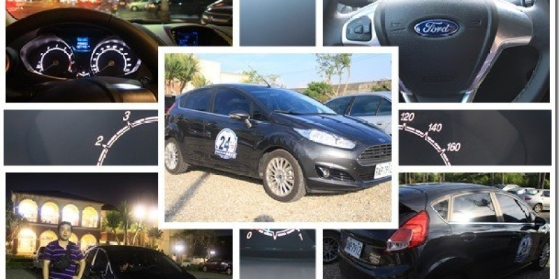 試駕 【Ford非試不可24小時試駕活動】Fiesta小車大動力,好開又省油,全家一同出遊好有趣。