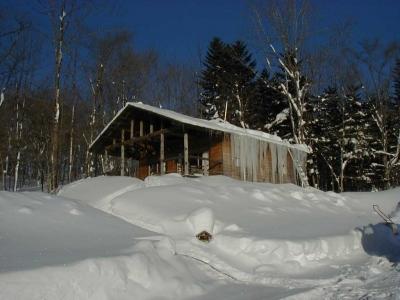 冬のわが家