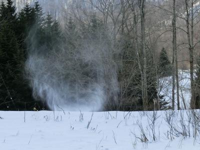 雪のトルネード