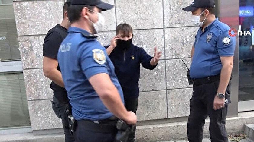 """Polisi 'Bana teşkilatın numarasını verin"""" sözleriyle tehdit eden Cihan Aksu  bu sefer de bekçiye saldırdı"""