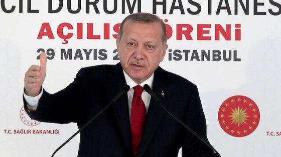 Πρόεδρος Ερντογάν: Βλέπουμε πολύ καλύτερα πόσο σημαντικά είναι τα νοσοκομεία της πόλης
