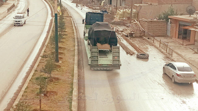 60 trucks of new shipments from the USA to the PKK