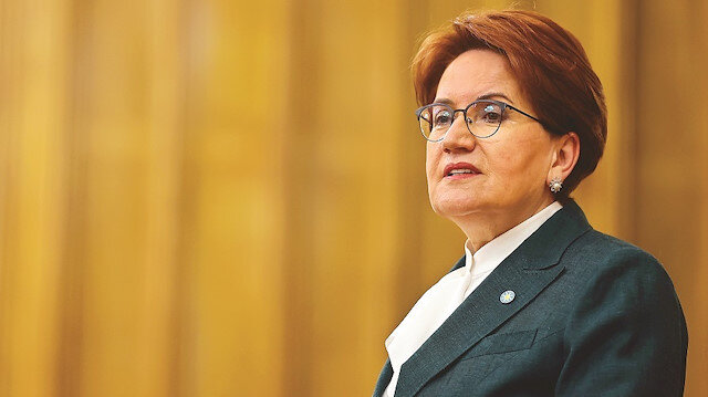 Metinleri karıştırmış:  Akşener HDP'nin diliyle konuştu