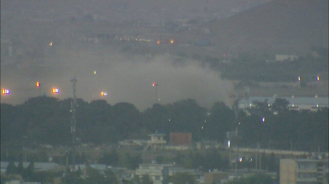 Kabil'de altıncı şiddetli patlama meydana geldi