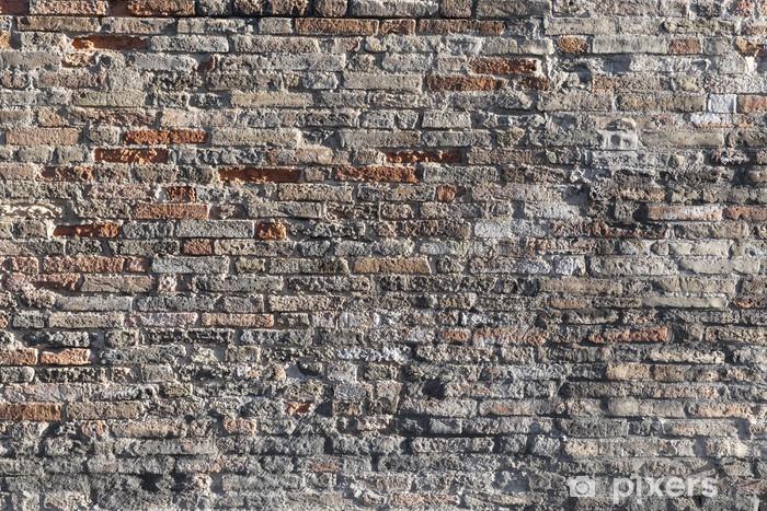 Papier Peint Old Brun Fonce Mur De Briques De La Texture De Fond Pixers Nous Vivons Pour Changer