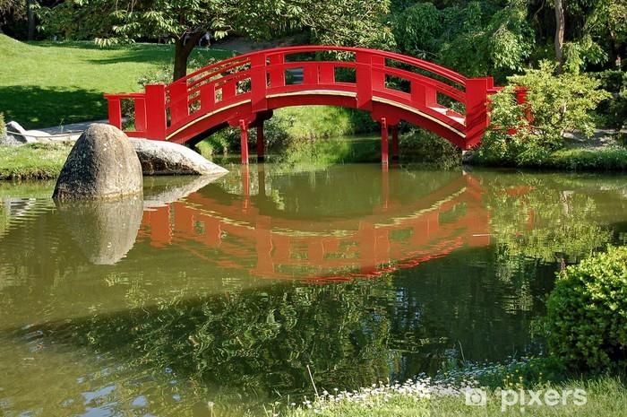 papier peint pont japonais pixers nous vivons pour changer