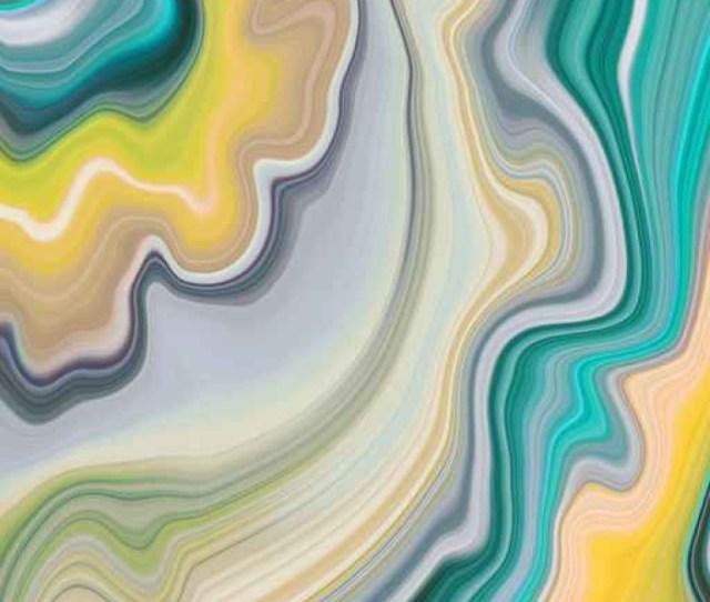 Fototapete Abstract Marmorierten Hintergrund Dekorative Achat Textur Flussig Marmorierung Kreativ Bemalt Tapete Grunen Und Gelben Wellenlinien