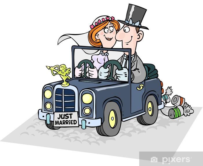 Hochzeit Comicfigur Eps 10 Vektorillustration Stock Vektor Art Und