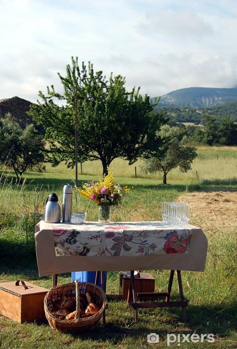 https pixers fr papiers peints petit dejeuner romantique provence france 33992341