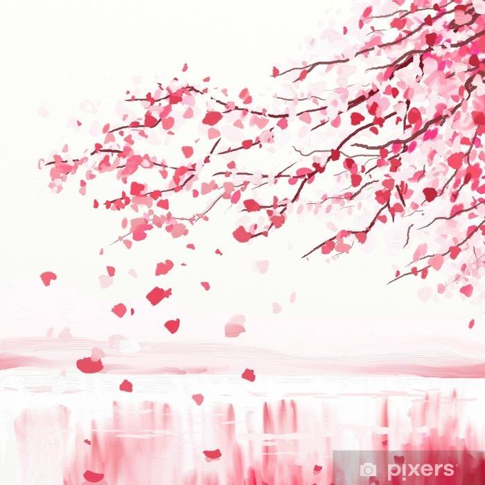 papier peint arbre cerisier japonais pixers nous vivons pour changer