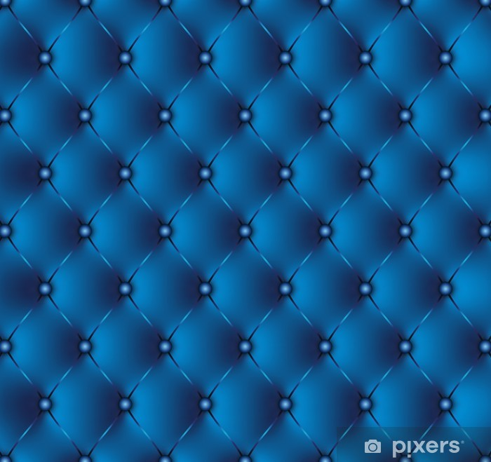 papier peint capitonne bleu 2 pixers nous vivons pour changer