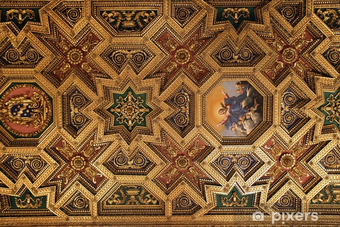 baroque ceiling sticker pixers we live to change