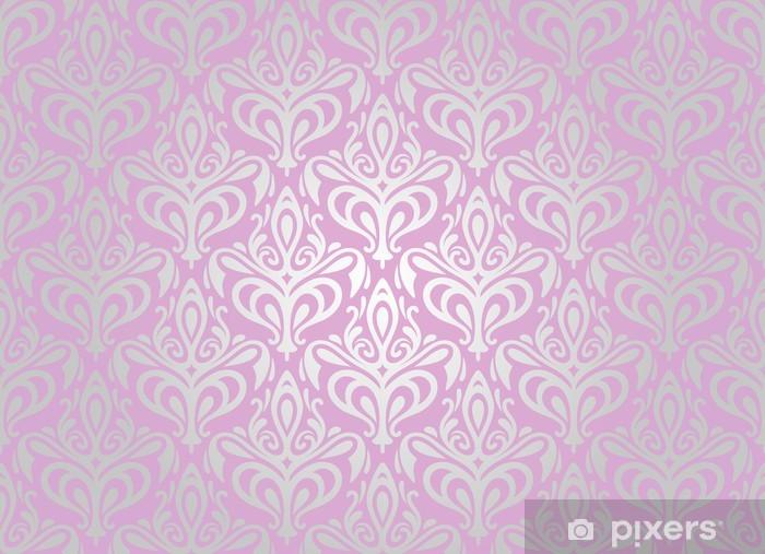 https pixers fr rideaux occultants rose et argent fond de papier peint pale 48214596