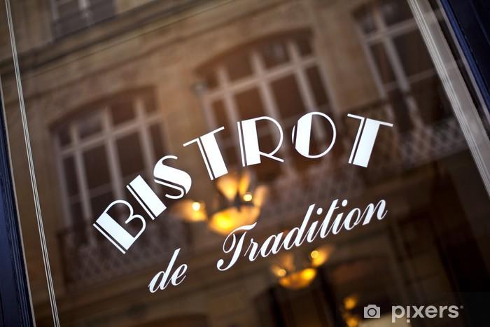 https pixers fr papiers peints cafe bar bistrot restaurant vitrine francais retro france 49928100