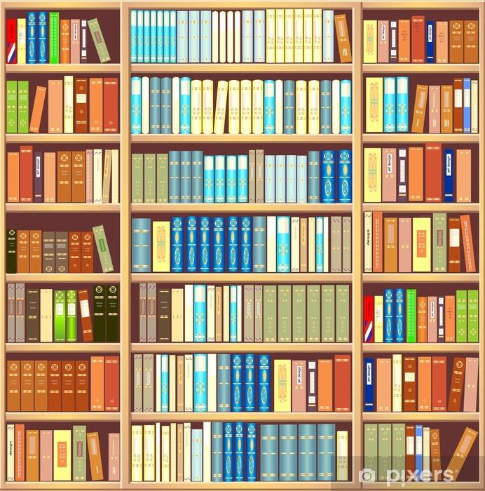 papier peint bibliotheque pleine de livres pixers nous vivons pour changer