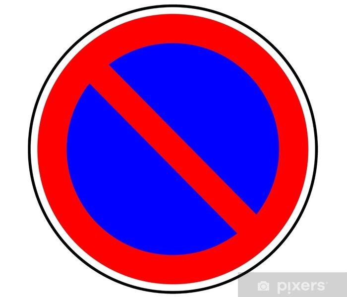 Panneau De Signalisation Stationnement Interdit B6a1 Sticker Pixers We Live To Change