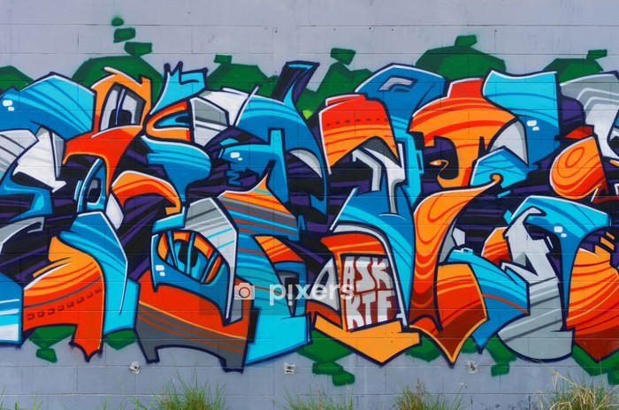 https pixers fr housses de couette street art sur le mur 62538436