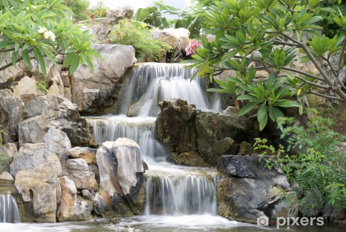 https pixers de aufkleber kaskaden jardin japonais 8575387