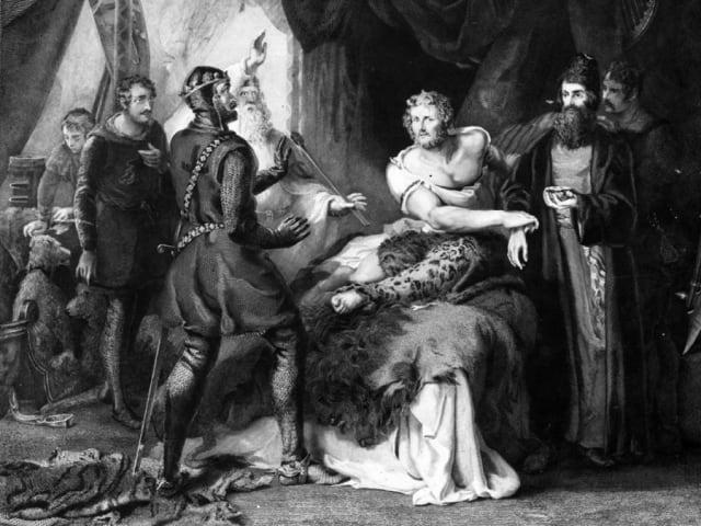 """Él tomó por la fuerza a las señoras, hijas y parientes de sus hombres libres y las hizo sus concubinas… Y luego de haber extinguido el ardor de su lujuria con ellas, echó mano de sus soldados para lo mismo""""."""