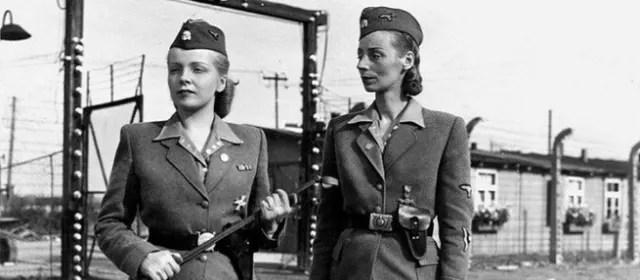 Irma Grese(izquierda) yMaría Mandel .-
