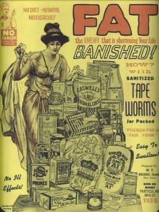 """""""Sin dietas, sin baños, sin ejercicios...Solitarias sanitarias (Envasadas en vidrio)"""""""