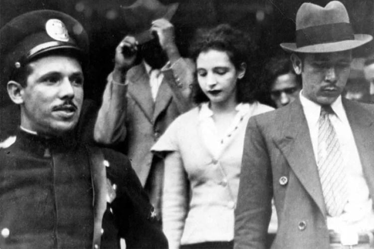 A primeira prisão, em 1931