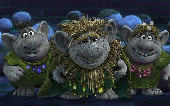 The Trolls in Frozen were really the villains. They wanted to take over the kingdom and put their son (adopted Christoff) in power