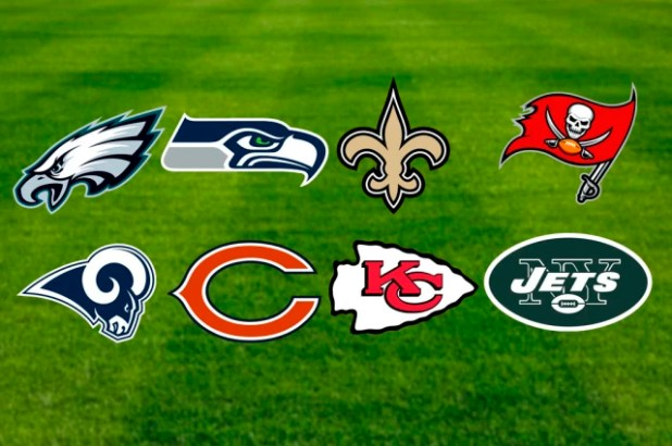 Estos 8 equipos terminan la lista de los ganadores de Súper Tazón. Los Rams tienen la posibilidad de ganar su segundo campeonato en esta edición 53, a su vez, los Jets son el equipo que más tiempo tienen sin poder ganar un segundo Super Bowl (50 años).
