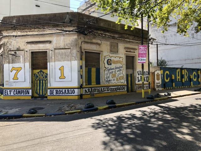 Los hinchas de Rosario Central se consideran los primeros campeones de la ciudad