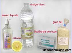 vinaigre blanc produit nettoyant