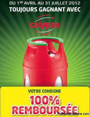 Calypso Antargaz La Consigne 100 Remboursee