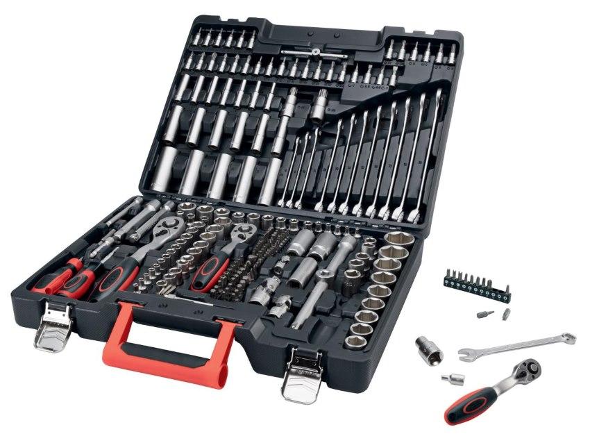 lidl malette de 216 outils en acier a