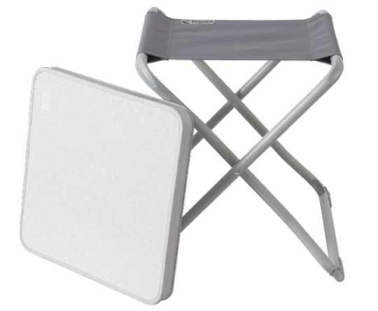 la chaise pliante aluminium et la table de camping a 7 95 chez action