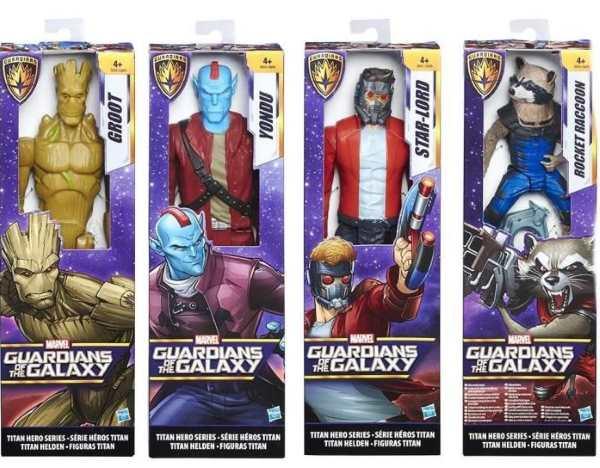 figurines gardiens de la galaxie marvel